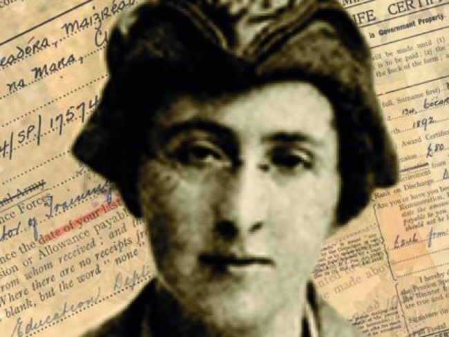 Margaret Skinnider, wounded during the 1916 Rising, was denied a pension because she was a woman.